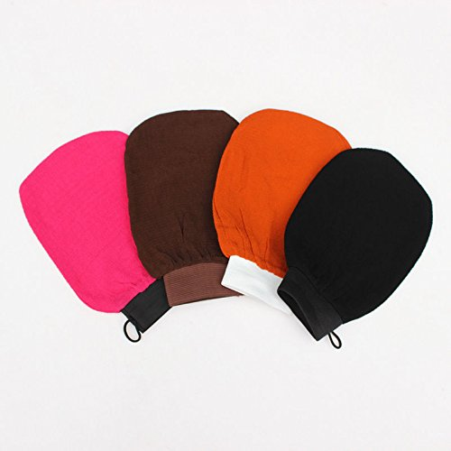 Portal Cool 1 Pieza Exfoliante Mitt Back Scrub Glove Moretcan Bath Mitt para Ducha, Baã±o, autobronceador sin Sol: Color...