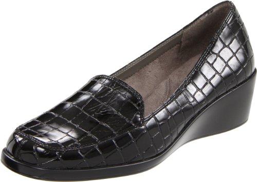Croc Women's Black Final Exam Wedge Aerosoles Patent wTpZnqYvYx