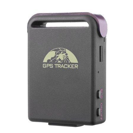 Mini Gps Tracker Anysun Quad Band  Realtime Smallest Spy Car GPS Mini Waterproof System Tracker TK102B with TF Slot (Gsm Pda Gps)
