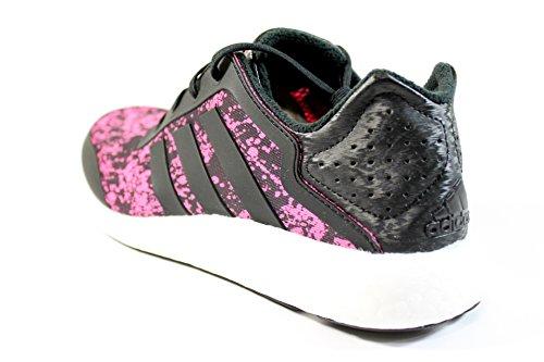 Adidas Pure Boost Black / Solar Pink