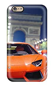 Ideal CaseyKBrown Case Cover For Iphone 6(lamborghini Aventador Night Shot), Protective Stylish Case