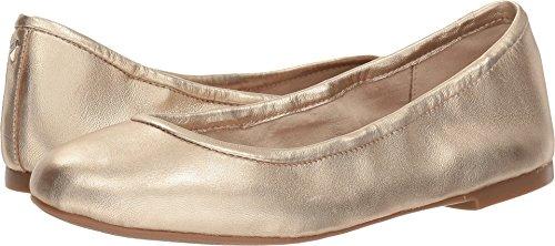Sam Edelman Women's Floyd Molten Gold Soft Metallic Sheep Leather 6 M US (Leather Footwear Soft Gold)