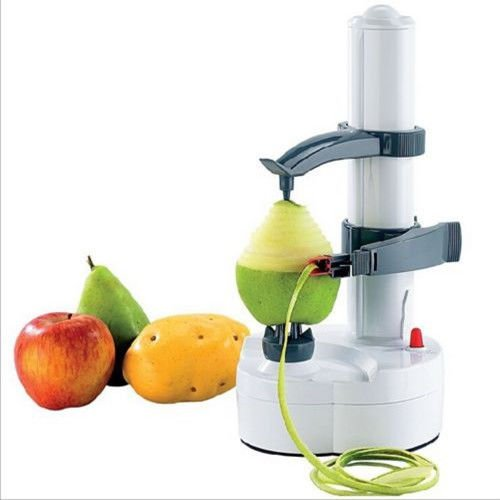 OKOKMALL US--Electric Kitchen Potato Peeler Corer Automatic Pear Apple Fruit Cutter Slicer by OKOKMALL US