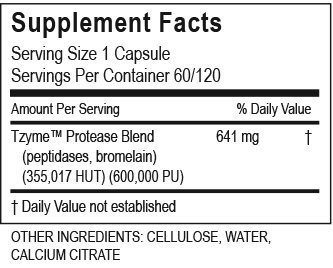 Transformation Enzymes Protease - Supports Healthy Circulation, Digestion, Immunity, and Elimination, Improve Tolerance On An Empty Stomach, 60 Capsules by TRANSFORMATION THE GENESIS OF GOOD HEALTH (Image #1)
