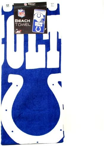 Indianapolis Colts Beach Towel 76cms x 152cms