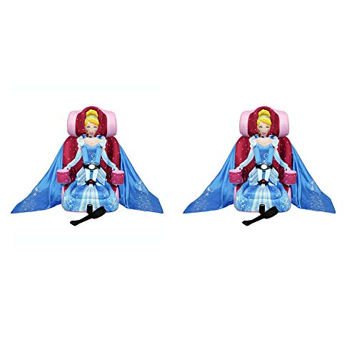Kids Embrace Disney Cinderella Combination Harness Booster Toddler Car Seat (2 Pack)