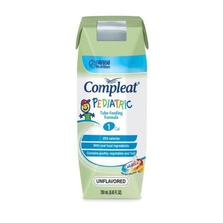 Compleat Pediatric Blenderized Tube Feeding Formula, 250ml Can 1.0cal/Ml, 24 Units 250 ml