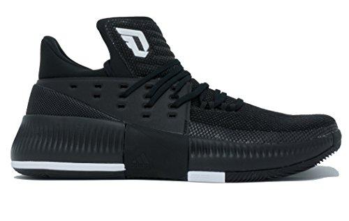 Adidas Dame 3 Nba / Mens Shoe Ncaa Nucleo Basket Nero-bianco