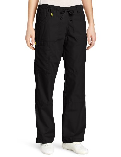 - WonderWink Women's Scrubs  Cargo Pant, Black, 3X/Petite
