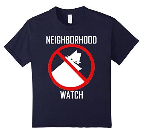 Kids Neighborhood Watch Funny T Shirt 12 (Neighborhood Watch Halloween Costume)