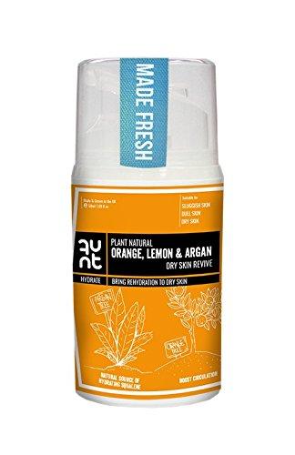 dryrevive naranja, limón, Vitamina C crema facial de Argán
