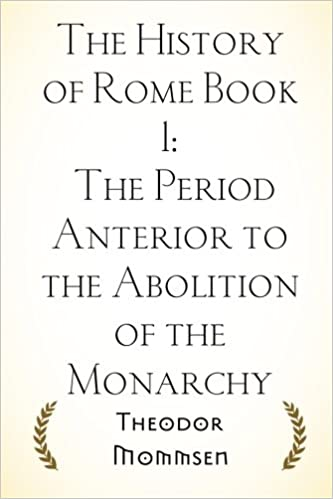 Book The History of Rome Book 1: The Period Anterior to the Abolition of the Monarchy