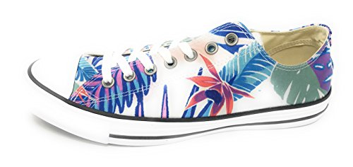 CONVERSE White ALL Fresh Cyan Glow Schuhe Magenta STAR Designer Chucks COCw714q