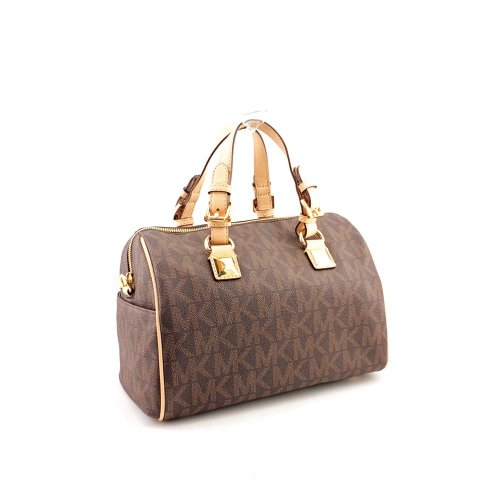 e3910fbd75a5 Michael Kors Signature Print Satchel Handbag Bag 30F2GGCS2B - Buy Online in  UAE. | michael kors Products in the UAE - See Prices, Reviews and Free  Delivery ...