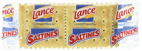 Lance Saltines Crackers, 300 Count Single Serve Packs