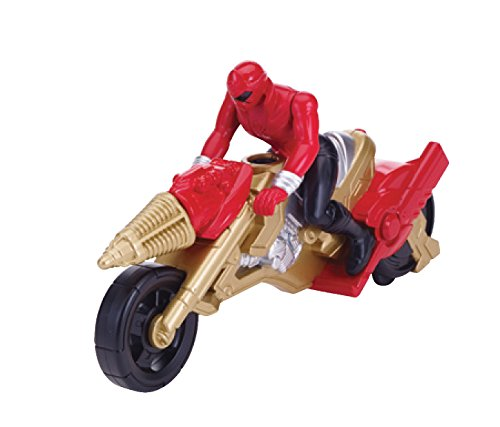 Power Rangers Super Megaforce - Operation Overdrive Cycle and 4