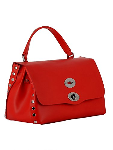 Sac Rouge Rouge Zanellato Main Taille pour Femme Unique à vxqdP