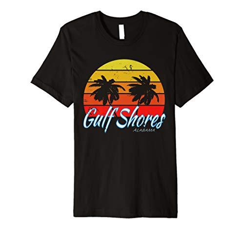 Gulf Shores, Alabama - Gulf of Mexico  Premium T-Shirt