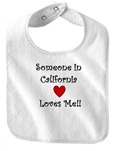 (SOMEONE IN CALIFORNIA LOVES ME - State Series - White Baby)