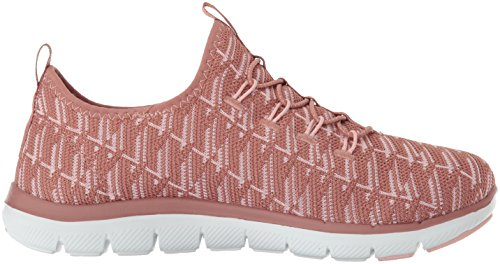 Skechers Femme Rose Insights 0 2 Flex Baskets Appeal OqazOT4