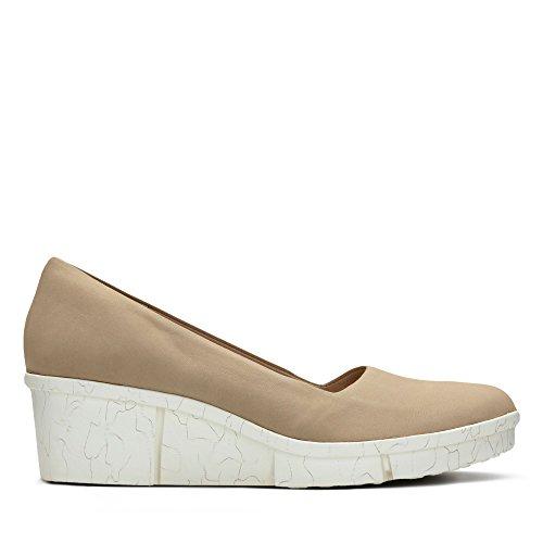 Clarks Shoes 26.130.988 Pola Mae Beige