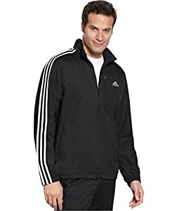 Adidas Drive 2 Jacket with Hidden Hood-Men (SMALL, GRAY)