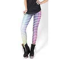 Dasbayla Women Stretch Fadeless Galaxy Print Leggings Space Tight Pants one size