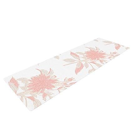 Amazon.com : Kess InHouse Gukuuki Pastel Fluers Yoga ...