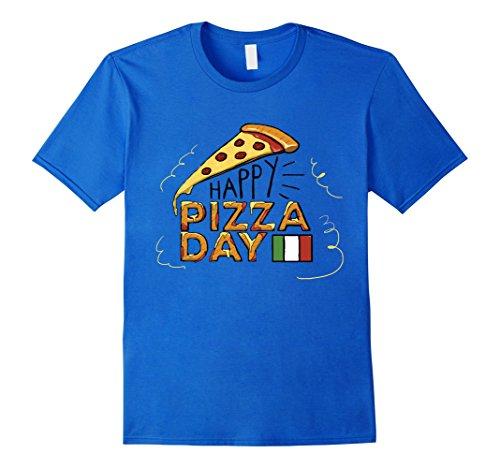 Happy Pizza Day Italy Flag T-Shirt