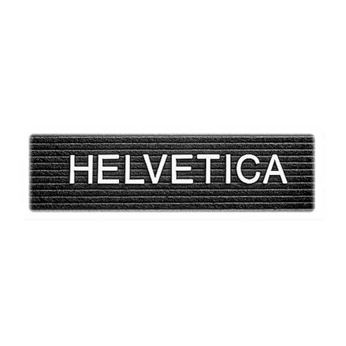 "Wholesale CASE of 15 - Quartet Message Center Plastic Letters-Traditional Letter, Helvetica, Plastic, 1/2"", 144/ST, White"