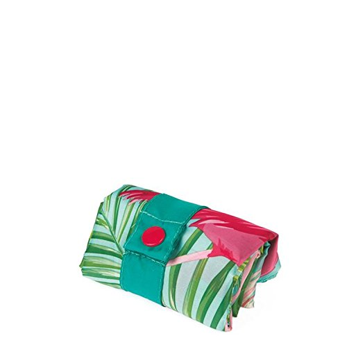 LOQI Bag Flamingos Multicolour Multicolore de Artist Plage 50 20 cm liters Sac Wild 1Ettwr