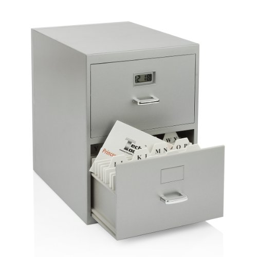 miniature-file-cabinet-for-business-cards-with-built-in-digital-clock-pi-9617