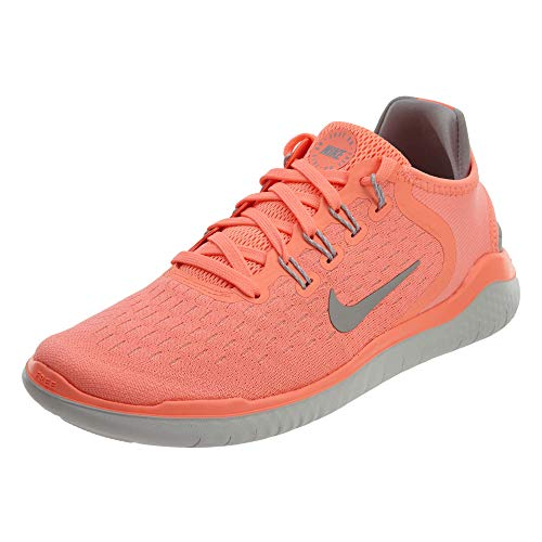 Nike Free Rn 2018 Womens Running Shoes (8 M US, Crimson Pulse/Atmosphere Grey)