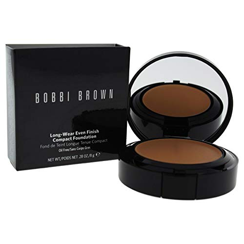 Bobbi Brown Long Wear Even Finish Compact Foundation, Warm Beige, 0.28 Ounce