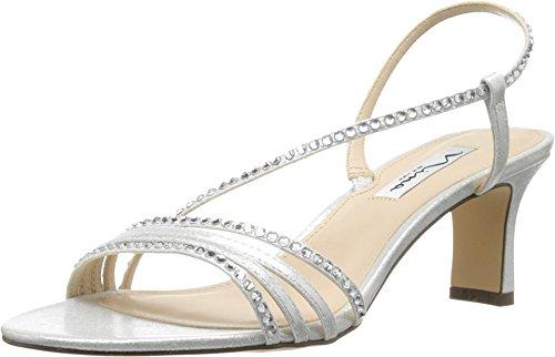 Nina Women's Gerri Silver Sandal