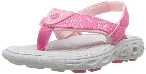 Columbia Baby TECHSUN FLIP Sport Sandal Wild Geranium, Lux 5 Regular US Toddler