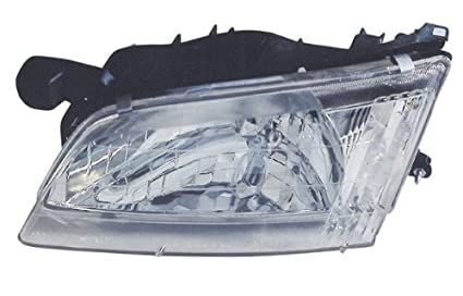 amazon com 1998 1999 nissan altima headlights w amber corner Ford Ranger Tail Light Wiring at 1999 Nissan Altima Tail Light Wiring Harness