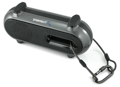 Sabrent Ultra-Portable Weatherproof Wireless Bluetooth Speaker For Outdoor/Indoor 10 hours Rechargeable Battery (SP-BYTA)