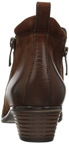 Paul Green Women's Jillian Ankle Bootie, Coriander Suede, 6 M US Cigar Nubuck