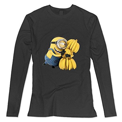 [Seico Lady Minions Despicable Me Tshirts Black Size M] (Gru Dog Costume)