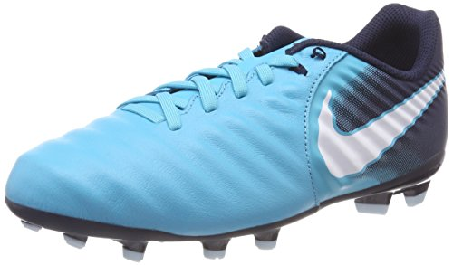 obsidienne obsidienne Nike Nike Nike Fg Bleu Enfant Jr Chaussures Mixte 414 Tiempo Iv bleu Glacier Gamma De Football blanc Ligera bleu Turquoise OnAWrOdZq