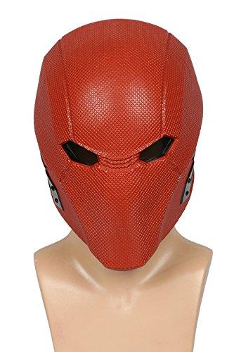 xcoser Red Hood Mask Helmet Cosplay Costume accessories For Halloween
