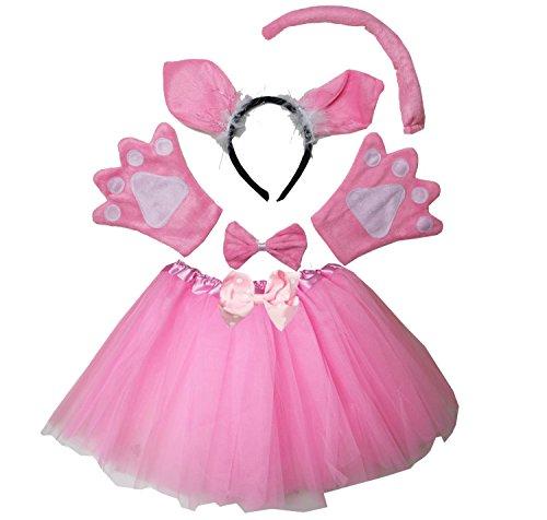 Kirei Sui Kids Pig Costume Tutu Set Pink