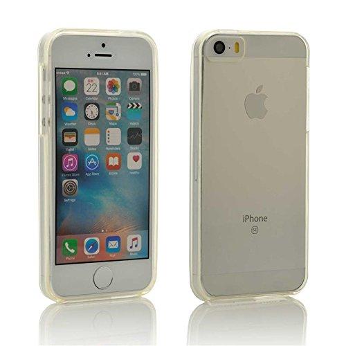 iProtect TPU Schutzhülle iPhone 5 / 5s Hülle transparent glossy durchsichtig