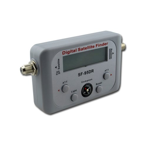 Digital Satelite Finder with Compass Direct