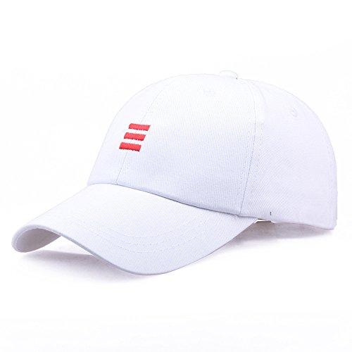 メンズ 野球帽 キャップ レディース 帽子 男女兼用 Goenn カジュアル キャップ 通気性抜群 UVカット 速乾 軽薄 日よけ フリーサイズ 調節可能 メンズキャップ帽子 釣り ジョギング 運転 ランニング ゴルフ テニス サイクリング 旅行 アウトドアなどなどに ホワイト