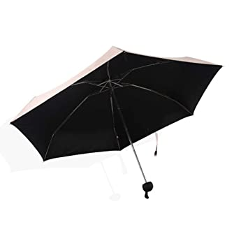 PZXY Paraguas Plegable Ultra luz Solar portátil Mini Bolsillo pequeño Fresco contra la radiación Ultravioleta Sol