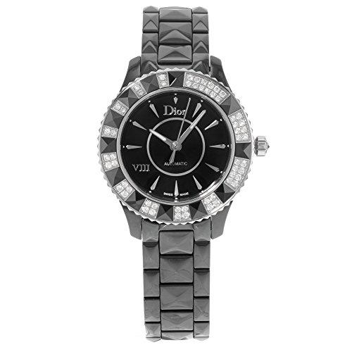 Christian Dior Women's CD1235E0C001 Black Eight Analog Display Swiss Automatic Black Watch - 41K6q5zOHRL - Christian Dior Women's CD1235E0C001 Black Eight Analog Display Swiss Automatic Black Watch