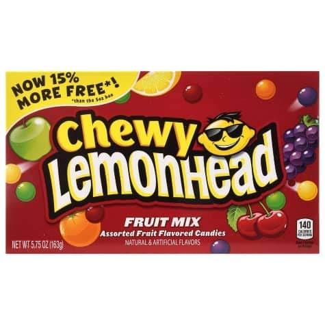 NEW! Chewy Lemonhead Fruit Mix 5.75 Oz. (1 Per Order)