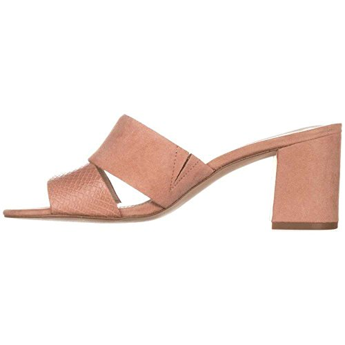 Apricot Alfani Toe Rochele Womens Casual Open Sandals Slide Pink Leather czqvzH